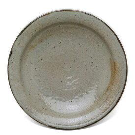 唐津焼:皮くじら六寸五分皿・中村恵子《中皿・6.5寸・19.5cm》