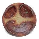 信楽焼:信楽皿・辻村塊《中皿・17.4cm》