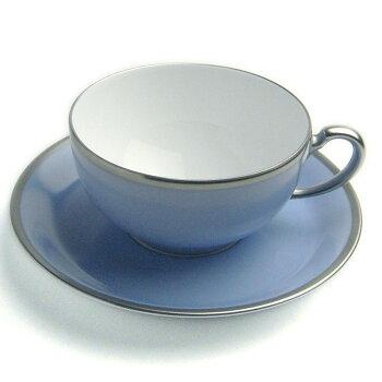 素敵な午後に・・・!トワエモアブルーティー碗皿・大倉陶園