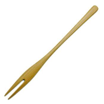 「和」には温もりのカトラリーを拭漆竹フォーク・奥田志郎