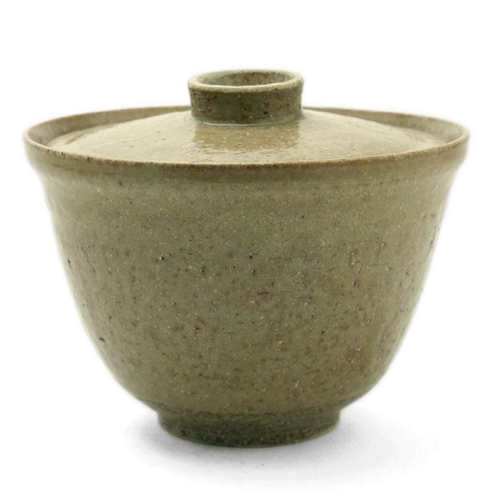 灰釉茶碗蒸・有松進
