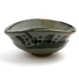 唐津焼:絵唐津沓型鉢・小・中村恵子《中鉢・17.0cm》
