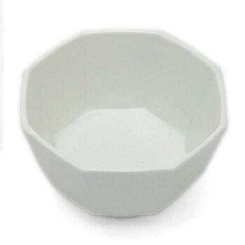 白磁八角小鉢・阿部春弥