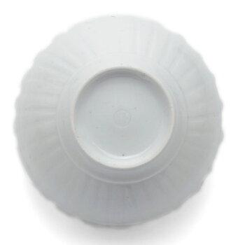 白瓷渕立なます皿・幾田晴子