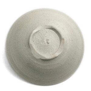 白釉5寸鉢・有松進