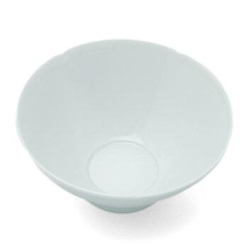 白磁五弁輪花小鉢・水野克俊