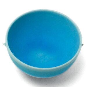 トルコ青釉小鉢・芦田俊之