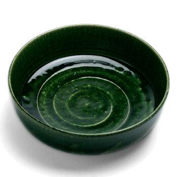豆腐のためにドラ鉢を作りました!織部鉦鉢風大鉢・長森慶