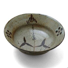 唐津焼:絵唐津菓子鉢・中村恵子《中鉢・17.5cm》