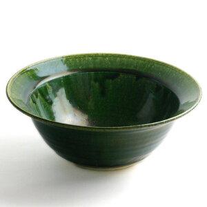 魯山人の写しです。織部甲鉢(7寸)・長森慶