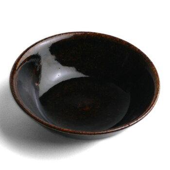 あめ釉小鉢・杉本寿樹