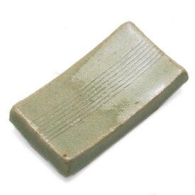 伊賀焼:箸置・くし目・太・杉本寿樹《箸置き》