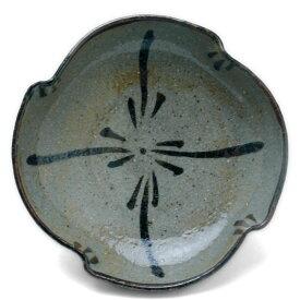 唐津焼:絵唐津小皿・D・中村恵子《小皿・11.0 cm》