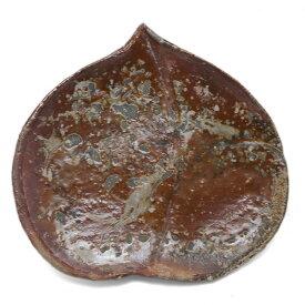 伊賀焼:伊賀皿・桃・辻村塊《中皿・17.0cm》