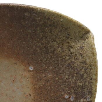 伊賀焼:雅造蓮弁皿・土楽・福森雅武《小皿・18.0cm》