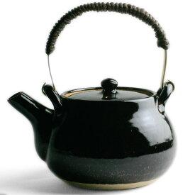 伊賀焼:つや黒土瓶・丸・杉本寿樹《土瓶・600ml》