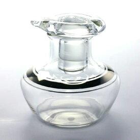 ガラス:醤油入れ・プラチナ・小・工芸はなせ《醤油入れ・20ml》
