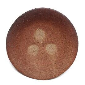 伊賀焼:雅造焼〆目つき4寸皿・土楽・福森雅武《小皿・14.0cm》