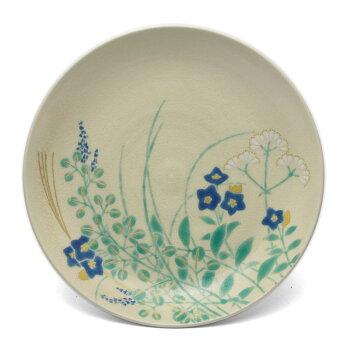 秋の酒宴は秋の取り皿で。色絵秋草紋4寸皿・伏原博之