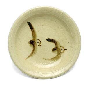 お漬物の銘々皿に!鳥文手塩皿・長森慶