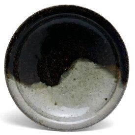唐津焼:朝鮮唐津五寸五分皿・中村恵子《中皿・5.5寸・16.0cm》