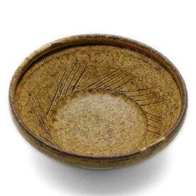 陶器:伊羅保すり鉢小付・長森慶《小鉢・10.0cm》