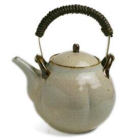 伊賀焼:梅土瓶・真鍮取手付・杉本寿樹《土瓶・700cc》
