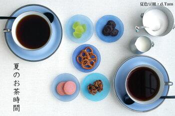 トワエモアブルーティー碗皿・大倉陶園