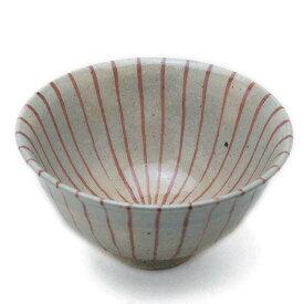 伊賀焼:紅十草飯碗・杉本寿樹《飯碗・ご飯茶碗・12.5cm》