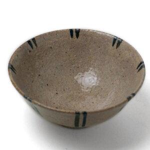 木灰釉対線飯碗・長森慶