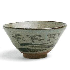 唐津焼:絵唐津飯碗・千鳥文・大・中村恵子《飯碗・ご飯茶碗》