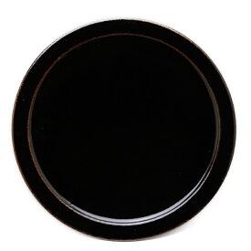 伊賀焼:あめ釉9寸皿・杉本寿樹《大皿・盛皿・27.4cm》