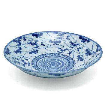 安南手:安南手8寸皿・土山敬司《大皿・盛皿・25.3cm》