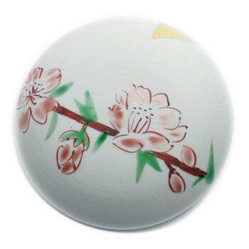 白酒から桃の花びら・・・桃かわらけ・古川章蔵