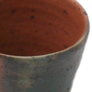 焼締め:南蛮酒盃g9406・川淵直樹《盃・7.3cm》