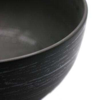 漆器・輪島塗:4.3寸朱椀・奥田志郎《汁椀・お椀・椀・飯椀・300ml》