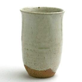 唐津焼:斑唐津お湯割カップ・吉井史郎《酒器・焼酎カップ・お湯割りカップ・300ml》