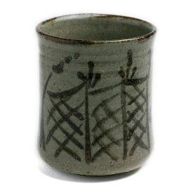唐津焼:絵唐津湯呑No.2・中村恵子《湯呑》