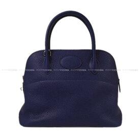 【ご褒美に★】HERMES エルメス ハンドバッグ ボリード31 ブルーインク (ブルーアンクル) トリヨン シルバー金具 新品未使用 (HERMES Handbag Bolide 31 Blue encre Taurillon Clemence SHW[Never used][Authentic])【あす楽対応】#yochika