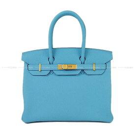 【ご褒美に★】2019年春夏 HERMES エルメス ハンドバッグ バーキン30 ブルーデュノール(ブルーノール) トゴ ゴールド金具 新品 (2019 S/S HERMES Handbag Birkin 30 Blue du nord Togo GHW[Brand New][Authentic])【あす楽対応】#yochika
