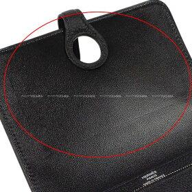 【ご褒美に★】HERMESエルメス財布ドゴンカードコインケース黒(ブラック)トゴシルバー金具新品(HERMESWalletDogonCardCoinCaseNoir(Black)TogoSHW[Brandnew][Authentic])【あす楽対応】#yochika