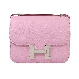 【キャッシュレスポイント還元★】HERMES エルメス ショルダーバッグ コンスタンス 3 ミニ 18 モーヴシルベストル エプソン シルバー金具 新品 (HERMES Shoulder Bag Constance 3 Mini 18 Mauve sylvestre Epsom SHW[Brand new][Authentic])【あす楽対応】#よちか