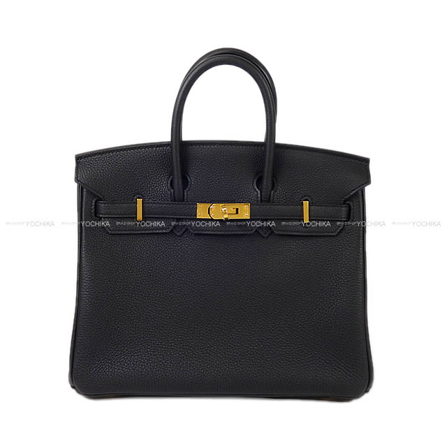 【値下げ!】HERMES エルメス ハンドバッグ バーキン25 黒(ブラック) トゴ ゴールド金具 新品 (HERMES Handbags Birkin25 Black(Noir) Togo GHW[Brand New][Authentic])【あす楽対応】#よちか