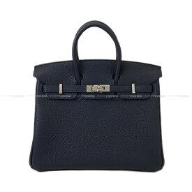 【ご褒美に★】HERMES エルメス ハンドバッグ バーキン25 ブルーニュイ トゴ シルバー金具 新品 (HERMES handbags Birkin25 Bleu Nuit Togo SHW[Brand New][Authentic])【あす楽対応】#よちか