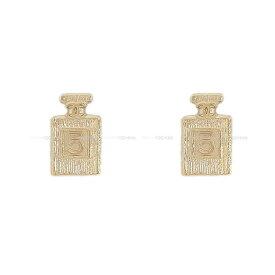 【ご褒美に★】2020年 新作 CHANEL シャネル No.5 パヒュームボトル 香水 ピアス ゴールド AB3063 新品 (2020 Cruise CHANEL No.5 Perfume bottle Pierces Gold AB3063[Brand New][Authentic])【あす楽対応】#yochika