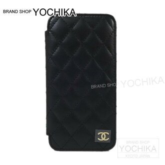 big sale 721ab f1ba8 Matelasse eyephone case cover A80762 new article with CHANEL Chanel iphone6  cardholder-free (CHANEL iphone6 Matelasse iphone case cover with Card ...
