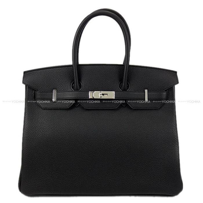 【ご褒美に★】HERMES エルメス ハンドバッグ バーキン35 黒(ブラック) トゴ シルバー金具 新品 (HERMES Handbag Birkin 35 Black Togo SHW [Brand new][Authentic])【あす楽対応】#yochika