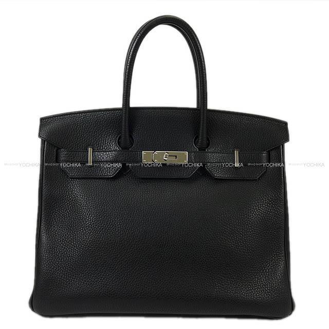 【ご褒美に★】【値下げ!】HERMES エルメス ハンドバッグ バーキン35 黒(ブラック) トゴ シルバー金具 SAランク【中古】 ([Pre-loved]HERMES Handbag Birkin 35 Black Togo SHW[Used SA][Authentic])【あす楽対応】#yochika