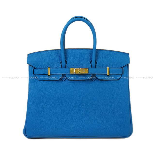 【ご褒美に★】HERMES エルメス ハンドバッグ バーキン25 ブルーザンジバル(ザンジバールブルー) トゴ ゴールド金具 新品 (HERMES Handbag Birkin 25 Bleu Zanzibar Togo Gold Hardware [Brand New][Authentic])【あす楽対応】#yochika
