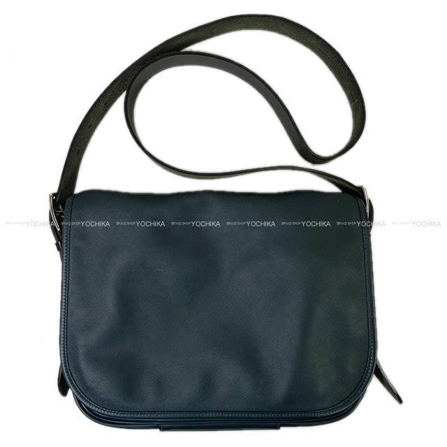 【ご褒美に★】HERMES エルメス メッセンジャーバッグ バルダ30 コルヴェール ヴォーシッキムXヴァッシュハンター SAランク【中古】 ([Pre-loved]HERMES Messenger Bag Barda 30 Colvert Veau Sikkim/Hunter [USED SA][Authentic])【あす楽対応】#yochika